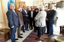 بازدید رئیس سازمان میراث فرهنگی از