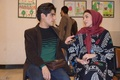 نقاشی کودکان زلزله زده کرمانشاه در سنندج به نمایش گذاشته شد