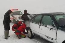 تردد در سه جاده زنجان با زنجیرچرخ امکانپذیر است