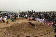مسابقات کشتی ساحلی قهرمانی کشور دربندرگز   5مدال سهم گلستان