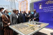 افتتاح نیروگاه سیکل ترکیبی شیروان توسط رئیس جمهور