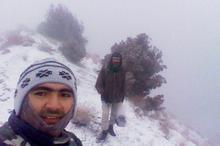 بارش برف ارتفاعات خراسان شمالی را سفیدپوش کرد