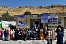 مدرسه خیر ساز حسین آباد دشت روم افتتاح شد
