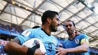 """""""سوارس"""" بهترین بازیکن دیدار اروگوئه و عربستان"""