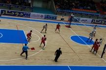 والیبال شهرداری تبریز مقابل فولاد سیرجان شکست خورد