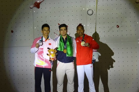 علیپور دوباره به مدال طلا دست یافت