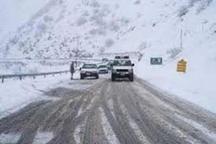 تردد در گردنه های کردستان تنها با زنجیر چرخ امکان پذیر است