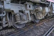 قطار باری ایران - ترکیه در خوی واژگون شد