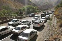 ترافیک در برخی محورهای آذربایجان شرقی نیمه سنگین شد