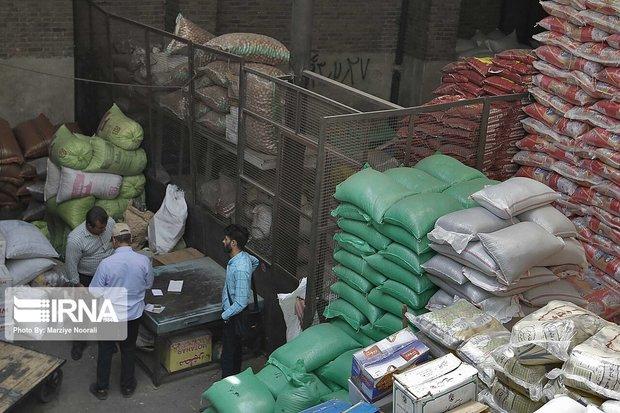۲۰۰ تن برنج قاچاق در ری کشف شد