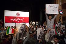 حاشیههای اولین تجمع انتخاباتی حامیان قالیباف در تهران