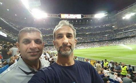 ویسی دیدار رئال مادرید و والنسیا را در برنابئو تماشا کرد+ عکس