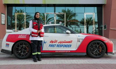 آمبولانسهای اسپرت و لاکچری در دبی+ تصاویر