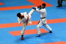 یزد قهرمان پیکارهای کاراته آزاد کشور شد