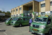 ضرورت استفاده حداکثری از وسایل حمل و نقل استاندارد برای سرویس مدارس