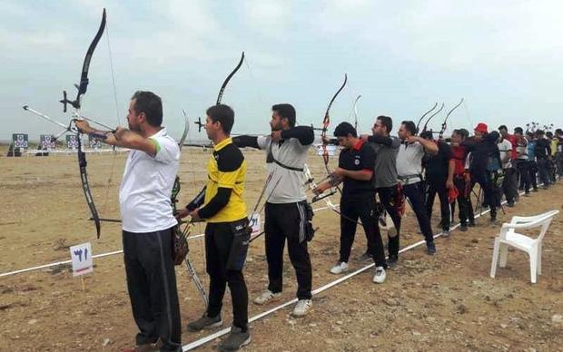 تیم های برتر لیگ تیراندازی با کمان استان یزد مشخص شدند
