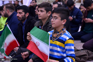 مراسم بزرگداشت روز جمهوری اسلامی در حرم مطهر امام خمینی(س)