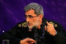 جانشین فرمانده سپاه قدس: ملت ایران ثابت کردند که جمهوری اسلامی ایران، متوقف شدنی نیست