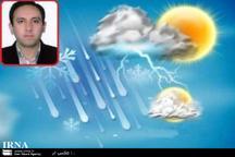 آغاز بارش ها در استان یزد از امشب  کاهش 6 تا هشت درجه ای دما
