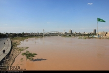 نهر «بَحرِه» به کمک سیلاب اهواز آمد