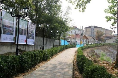 افتتاح فضای مکث در نتیجه اتصال پارکهای شقایق و رازی