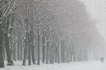 بارش برف در غرب و شمال استان اصفهان  دمای هوا به زیر صفر میرسد