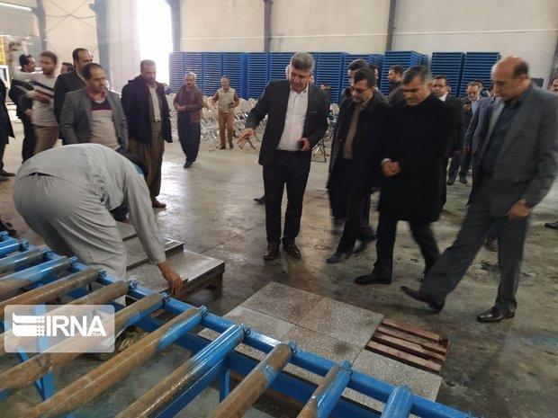 یک واحد تولیدی در دیواندره راهاندازی شد