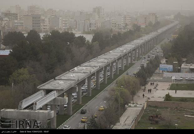 وارونگی دما، هوای چهار شهر کرمانشاه را به مرحله هشدار رساند