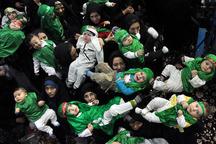 همایش شیرخوارگان حسینی در اراک برگزار شد