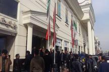 تجمع برخی شهروندان در بازار مبل کوروش