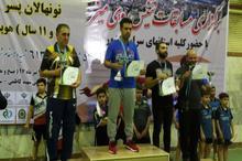 تهران قهرمان رقابت های تنیس روی میز نونهالان کشور شد