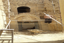 کار مرمت خانه تاریخی قصاب در شوشتر آغاز شد