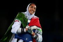 کیمیا علیزاده در رقابت های جام بین المللی فجر شرکت کرد
