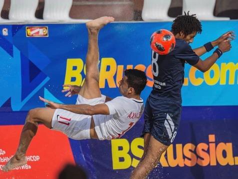 محمد احمدزاده، نماینده ایران در افتتاحیه بازیهای ساحلی جهان شد