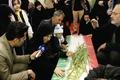 وداع خانوادههای شهدا با پیکر ۲۷ شهیدحادثه تروریستی خاش