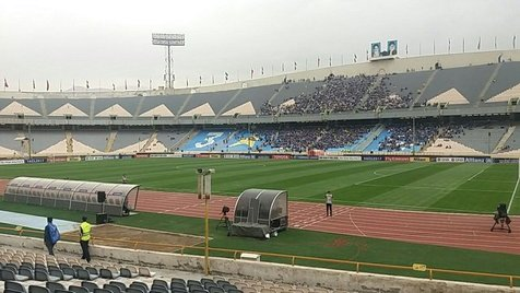 حضور سیداحمد خمینی در رختکن استقلال