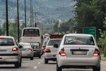 آزادراه های قزوین با ترافیک سنگین روبرو هستند