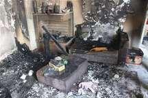 دو کودک اقلیدی بر اثر آتش سوزی جان باختند