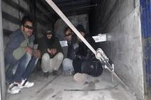 10 عابر غیرمجاز مرزی در بازرگان دستگیر شدند