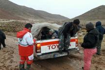 11 نفر در ارتفاعات اسفراین نجات یافتند