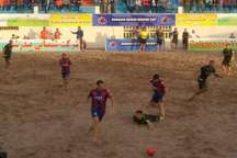 فوتبال ساحلی جهان  اسپورتنیگ پرتغال، لوانته اسپانیا را شکست داد