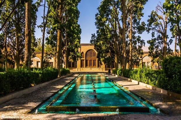 باغ تاریخی فین کاشان جزو سه انتخاب نخست گردشگران نوروزی بود