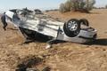 واژگونی سواری پژو در قزوین 2 کشته برجا گذاشت