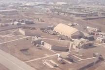 حمله موشکی به یک پایگاه نظامی در عراق