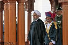 استقبال سلطان از روحانی + عکس