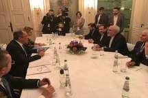 ظریف با همتایان روسی، فرانسوی و ترکیه ای خود دیدار کرد