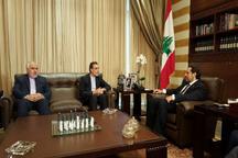 جابری انصاری با نخست وزیر لبنان دیدار کرد