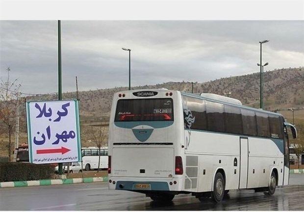 ۲۰۰ دستگاه اتوبوس کار جابجایی زائران کربلا را در ایلام بر عهده دارند