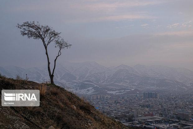 آلودگی هوای مشهد ناشی از تغییر اقلیم و عوامل منطقهای است