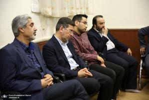 دیدار شورای مرکزی انجمن اسلامی فارغ التحصیلان دانشکده فنی دانشگاه تهران با سید حسن خمینی